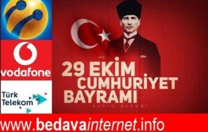 29 Ekim 2019 Türk Telekom, Vodafone ve Turkcell