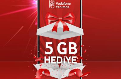 Vodafone Yanımda 5Gb Ücretsiz İnternet Nasıl Alınır?