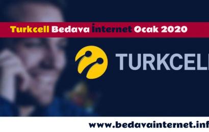 Turkcell Bedava İnternet Paket ve Tarifeler Ocak 2020