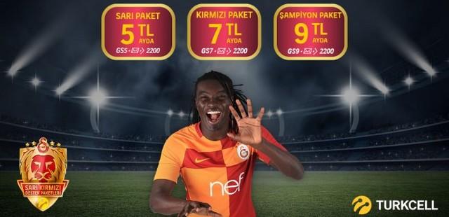 Turkcell Galatasaray Destek Paketi İle Bedava İnternet Kampanyası