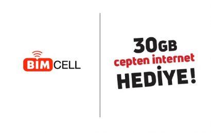 Bimcell 30 GB Bedava İnternet