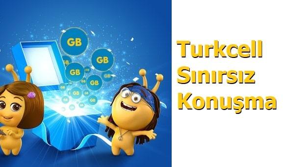 Turkcell Bedava Sınırsız Konuşma